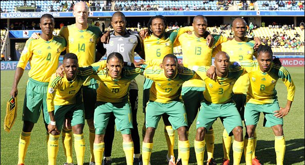 Bafana To Open Camp On Sunday For Super Eagles Clash