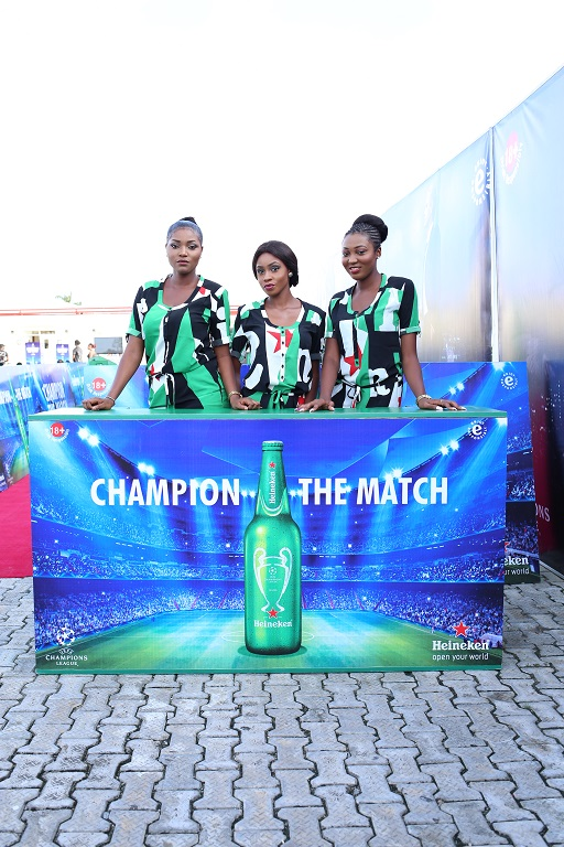 2 Cities, 1 Night! Heineken #ChampionTheMatch With Fans In Port Harcourt And Lagos