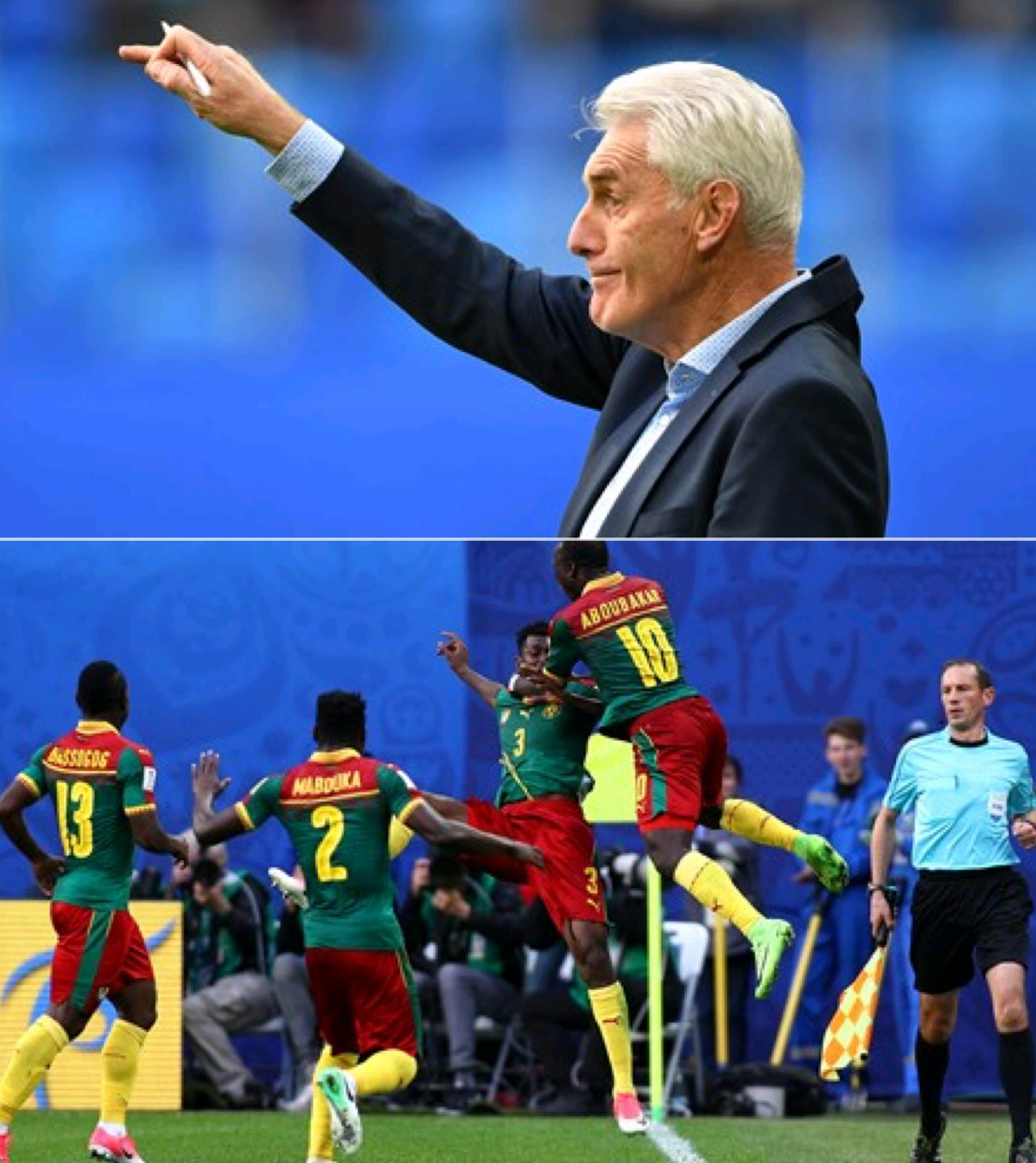 HELP! HELP!! Cameroon Coach Broos Declares Ultimate Search For Top Class Striker