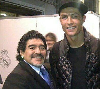 Maradona: I Wish Cristiano Ronaldo Was An Argentine