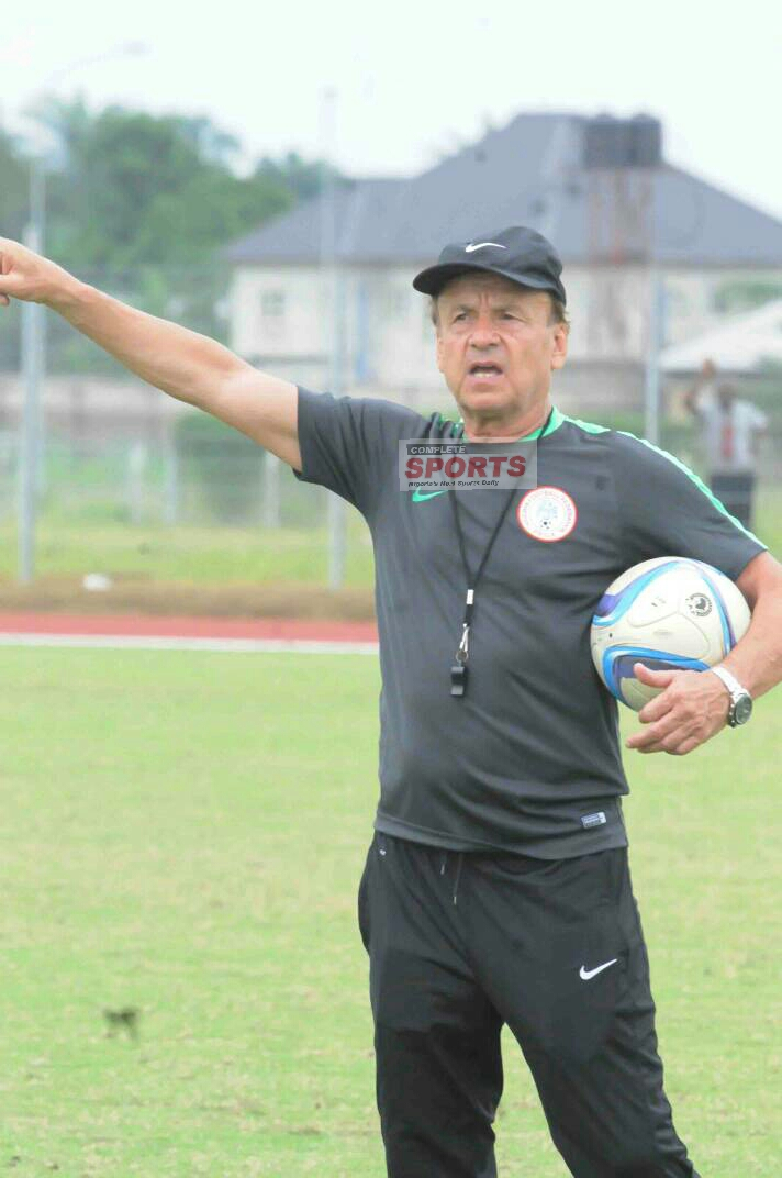 Rohr: Super Eagles Won't Underrate Zambia As Algeria Did