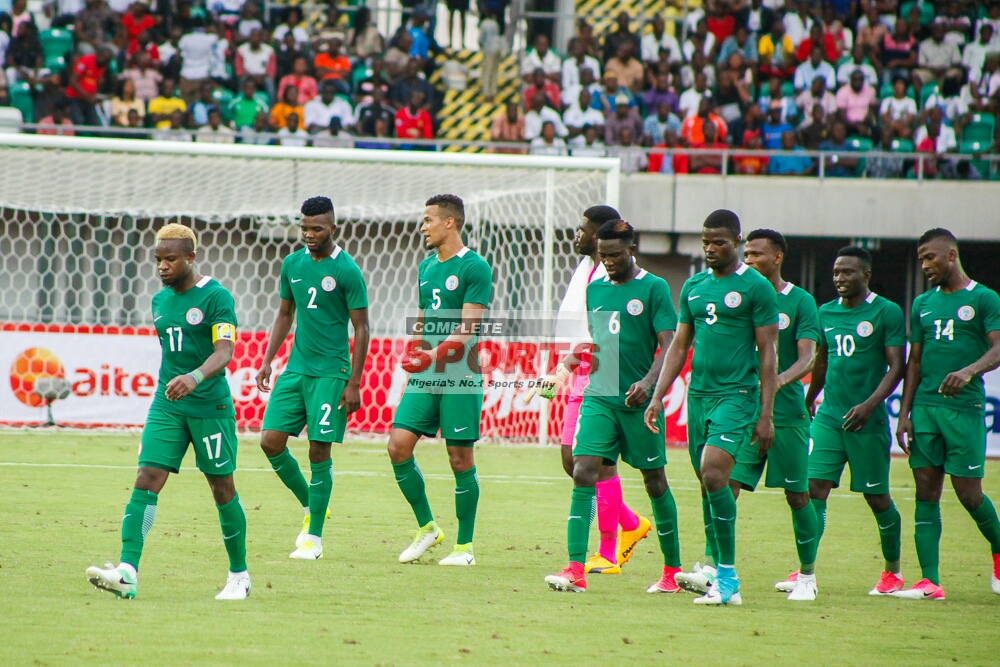 Super Eagles Apologize To Fans For Home Defeat To Bafana