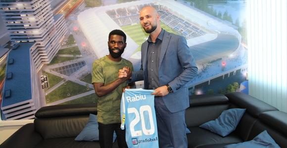 Rabiu  Ibrahim  Joins Slovakian Club Slovan Bratislava On Record €1m  Deal