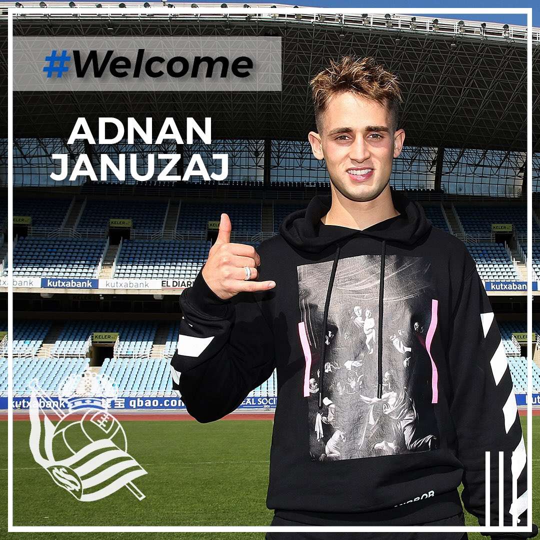 Januzaj Joins Real Sociedad From Man United For €10m