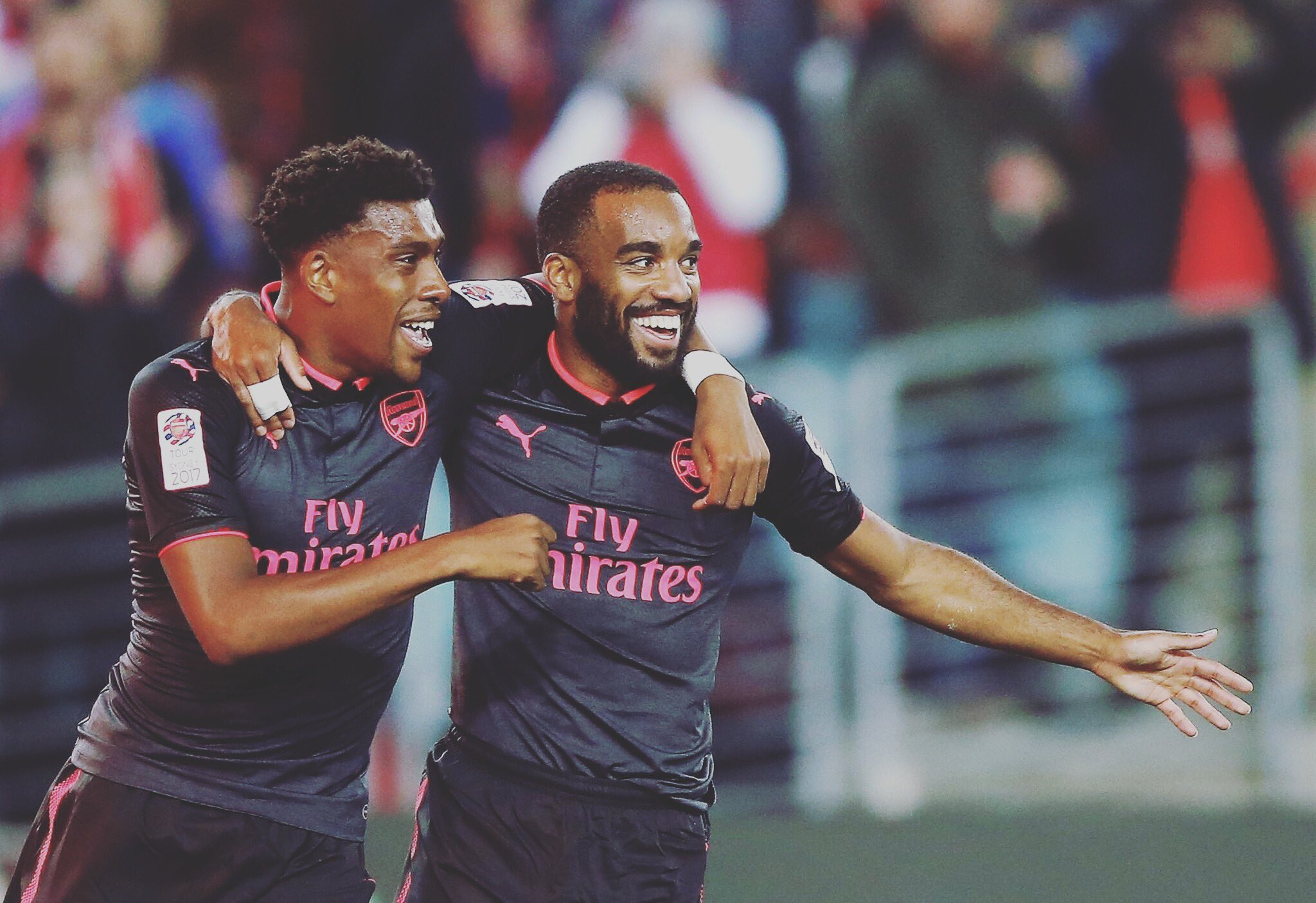 Lacazette: Thank You Iwobi For Assisting My First Arsenal Goal