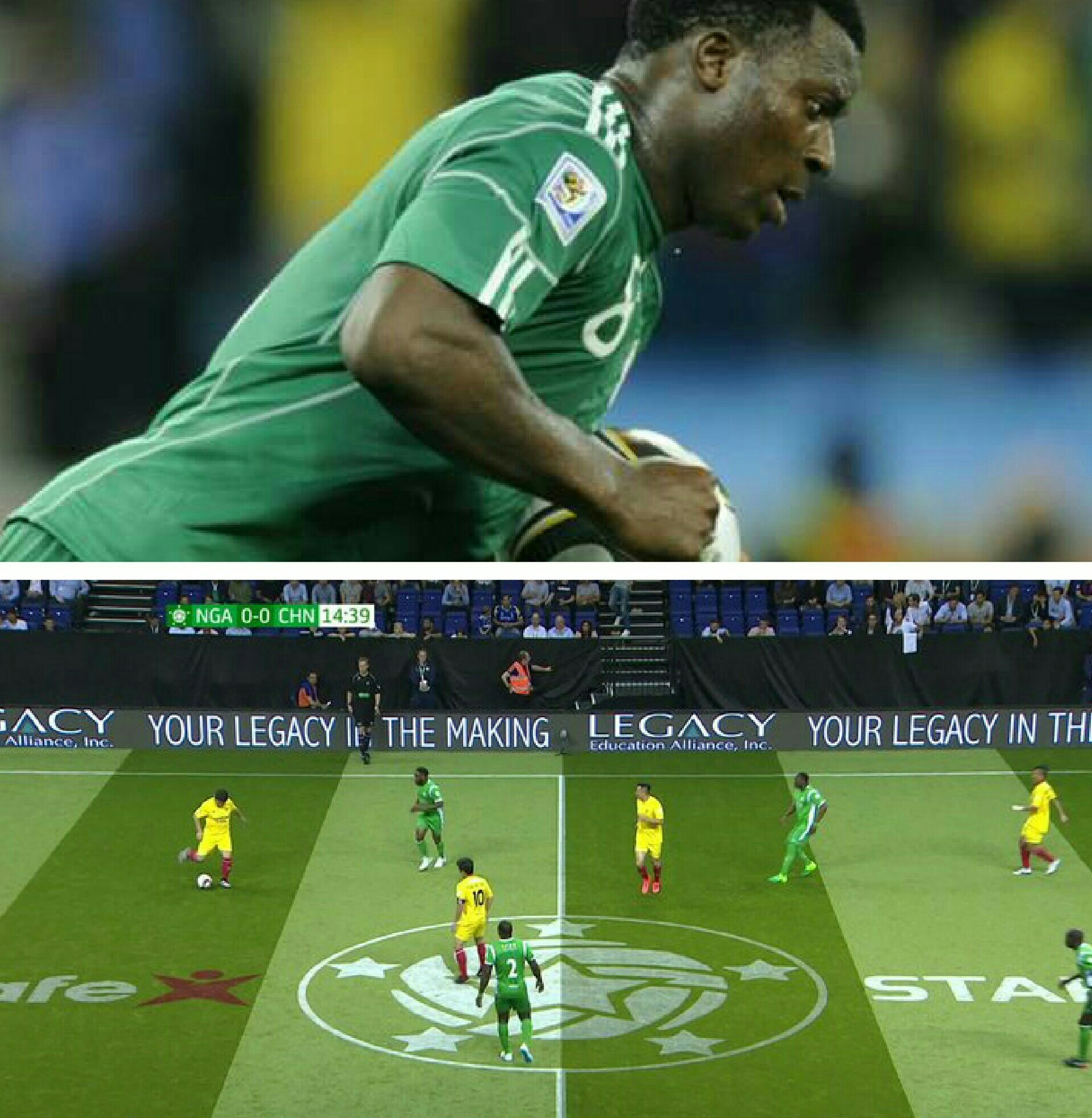 Image result for Star Sixes: Aiyegbeni, Amokachi fire Nigeria fast China