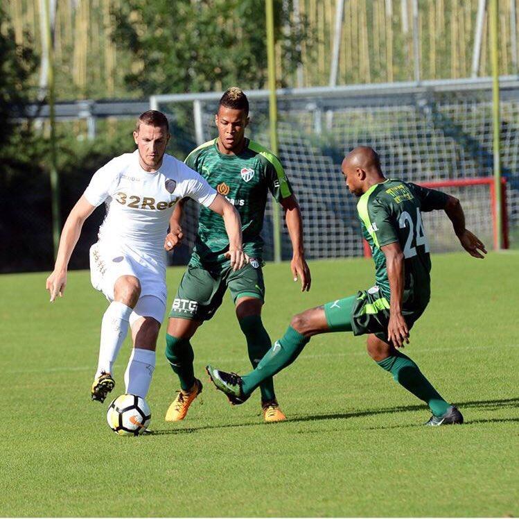 Excited Troost-Ekong Scores First Bursaspor Goal In Friendly Win
