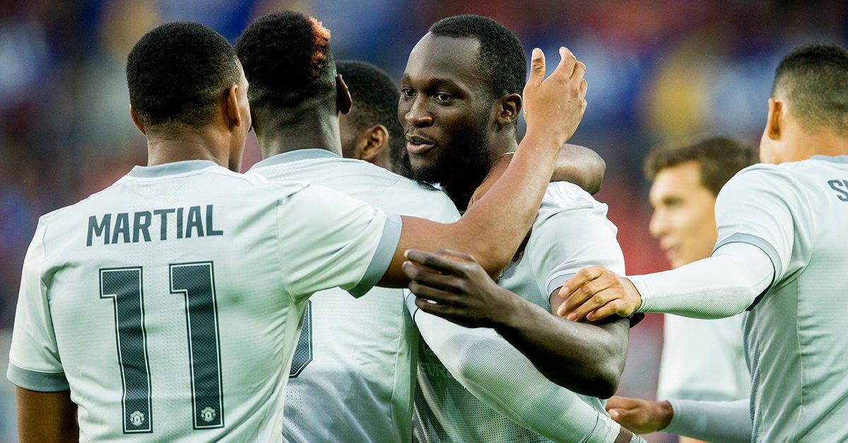 Lukaku Scores Again As Man United Spank Chidera's Valerenga