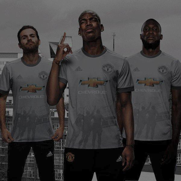 Man United Unveil Third Kit For 2017/2018 Season