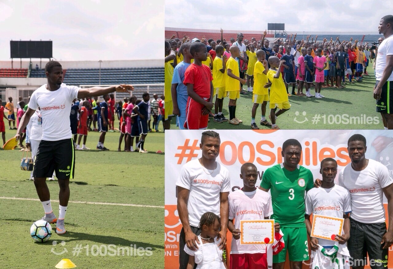 Echiejile Launches 100 Smiles Football Initiative For Edo Indigent Children