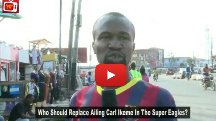 VIDEO: Nigeria Fans Select Their Choice Goalkeeper To Replace The Ailing Ikeme As Super Eagles Clash With Cameroon