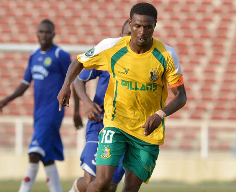 Pillars Star Ali's Strike Voted NPFL Matchday 26 Wonder Goal