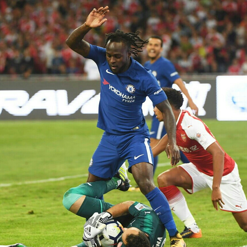 Community Shield: Complete Sports Readers Tip Moses To Beat Iwobi