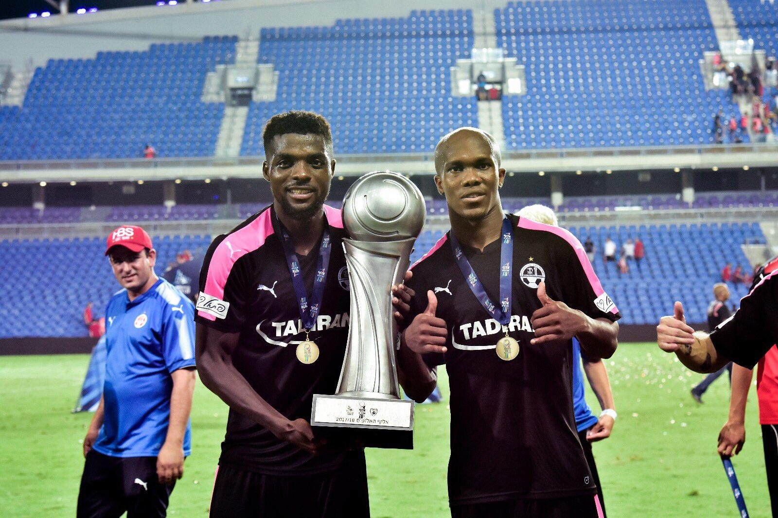 Nwakaeme Scores, Ogu Stars As Hapoel Win Israeli Super Cup