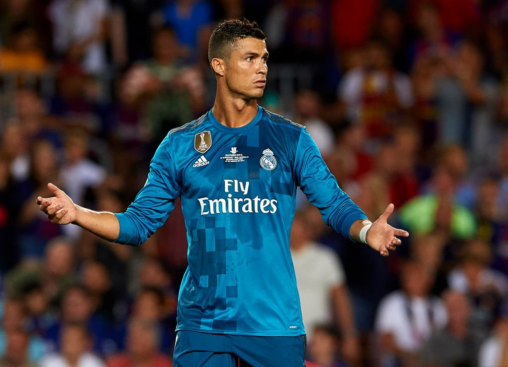 Cristiano Ronaldo says his ban for pushing referee is