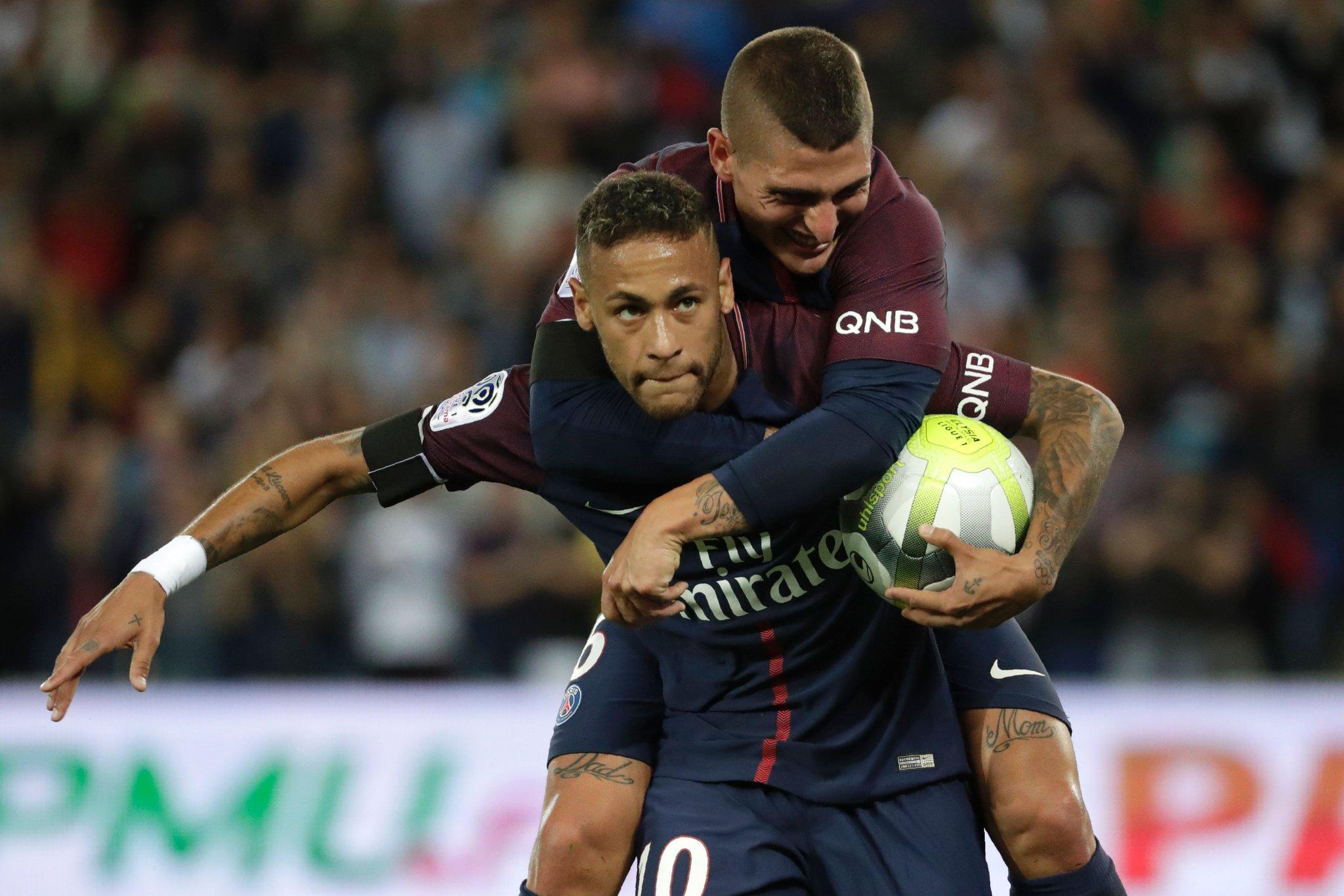 Neymar Scores Brace As Psg Spank Toulouse Complete
