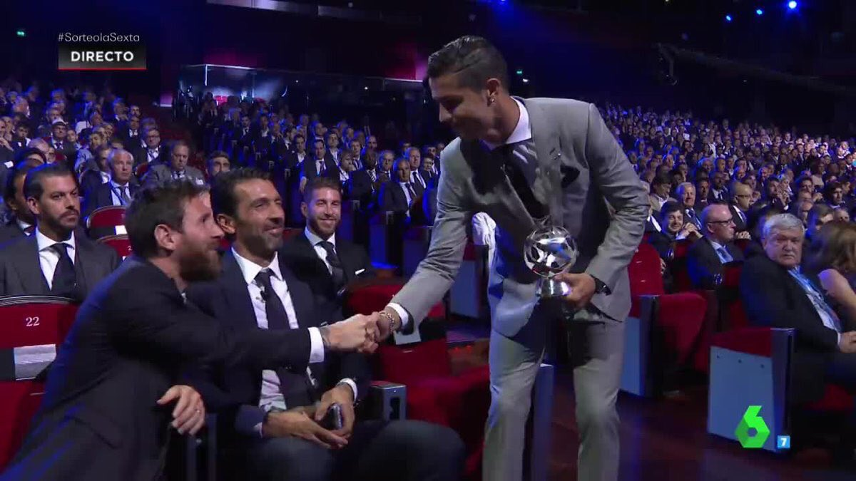 Ronaldo Real Madrid Stars Sweep Champions League Awards