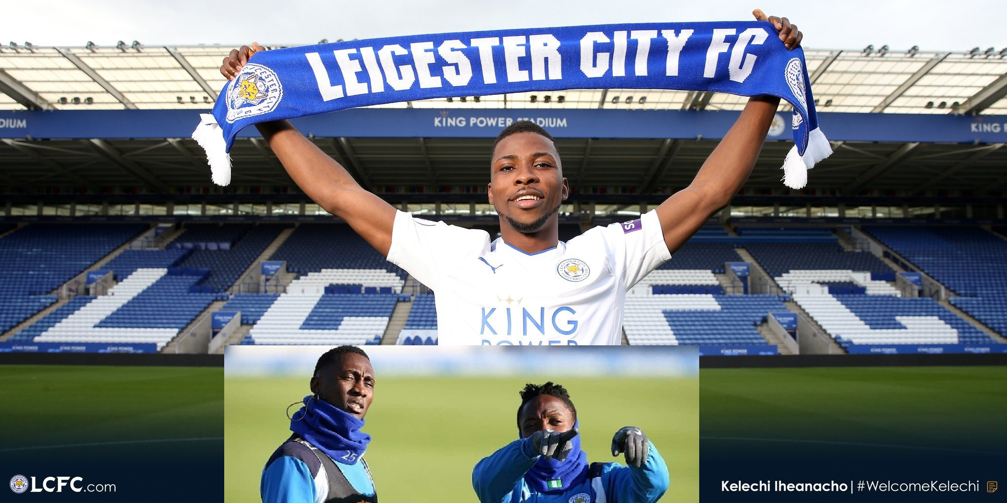 NFF Excited, Wishes Iheanacho Good Luck On Joining  Musa, Ndidi At Leicester
