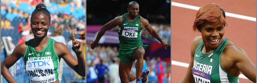 Team Nigeria's London 2017 IAAF Worlds Warriors