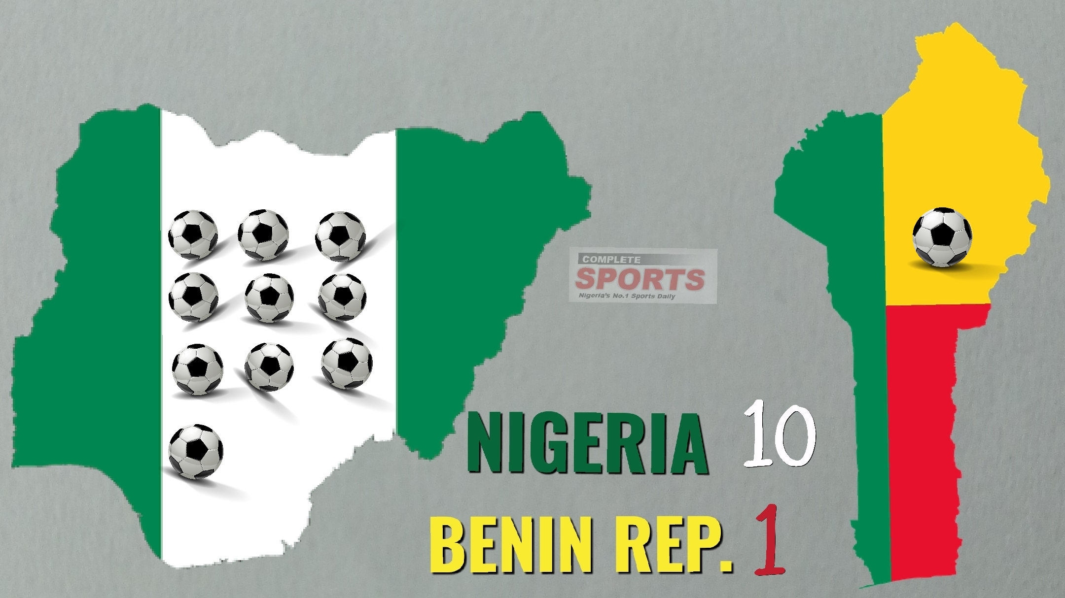 MASSACRE: How Nigeria Destroyed Benin Republic 10-1 In 1959!
