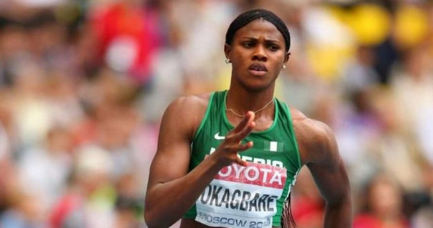 Okagbare fails to advance to 100m final
