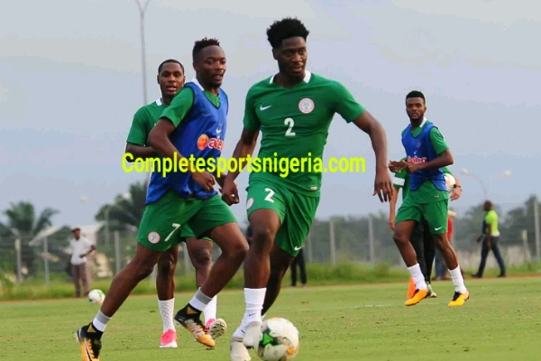 Eagles Sing Victory Song As Ezenwa Given Number One Shirt
