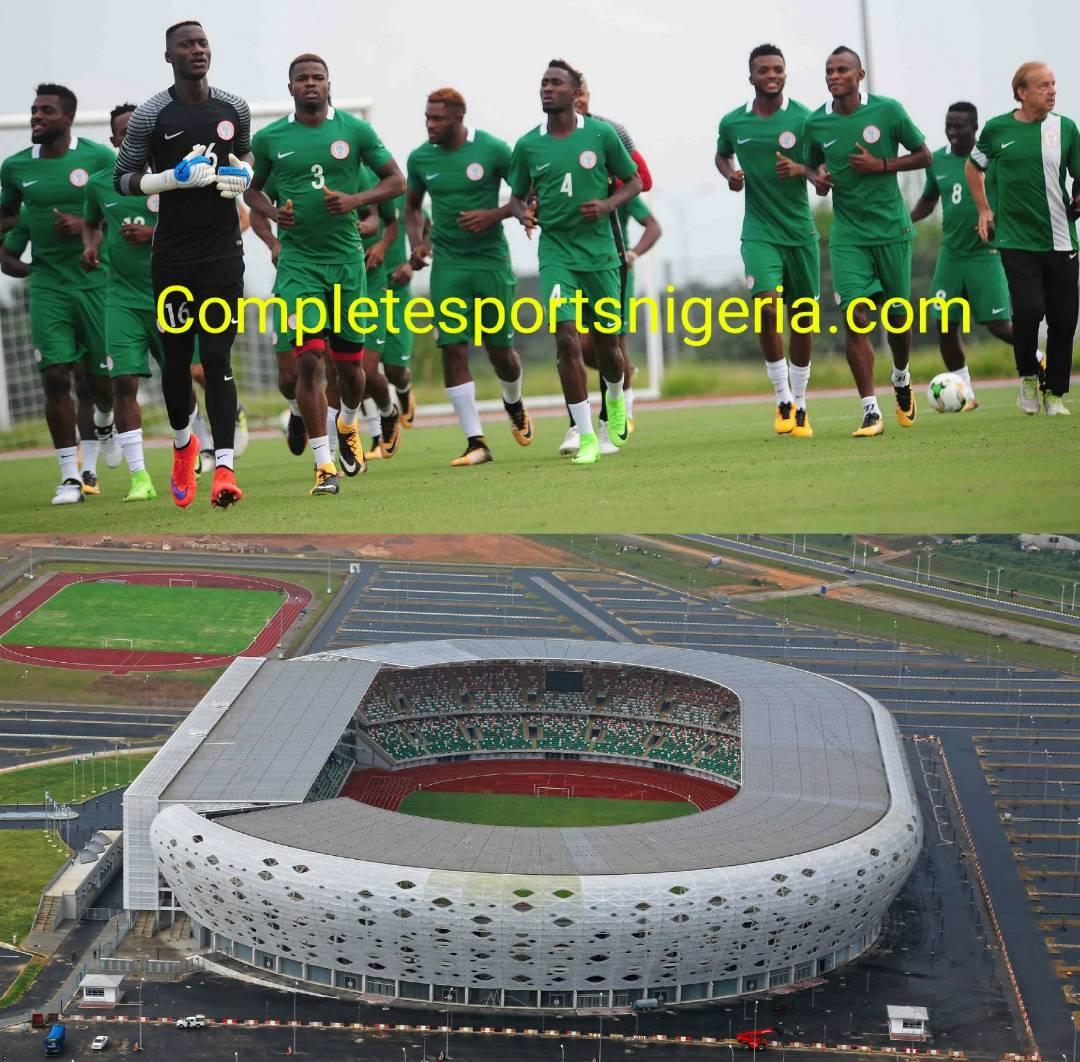 Rohr: Uyo Is Not Unlucky Venue For Super Eagles
