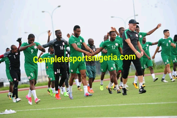 Akpeyi out, Ezenwa to start in goal for Nigeria vs Cameroon