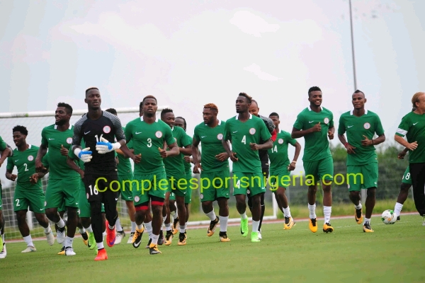 Super Eagles camp update