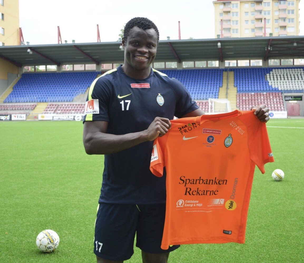 Taye Taiwo: Why I Joined Swedish Club AFC Eskilstuna