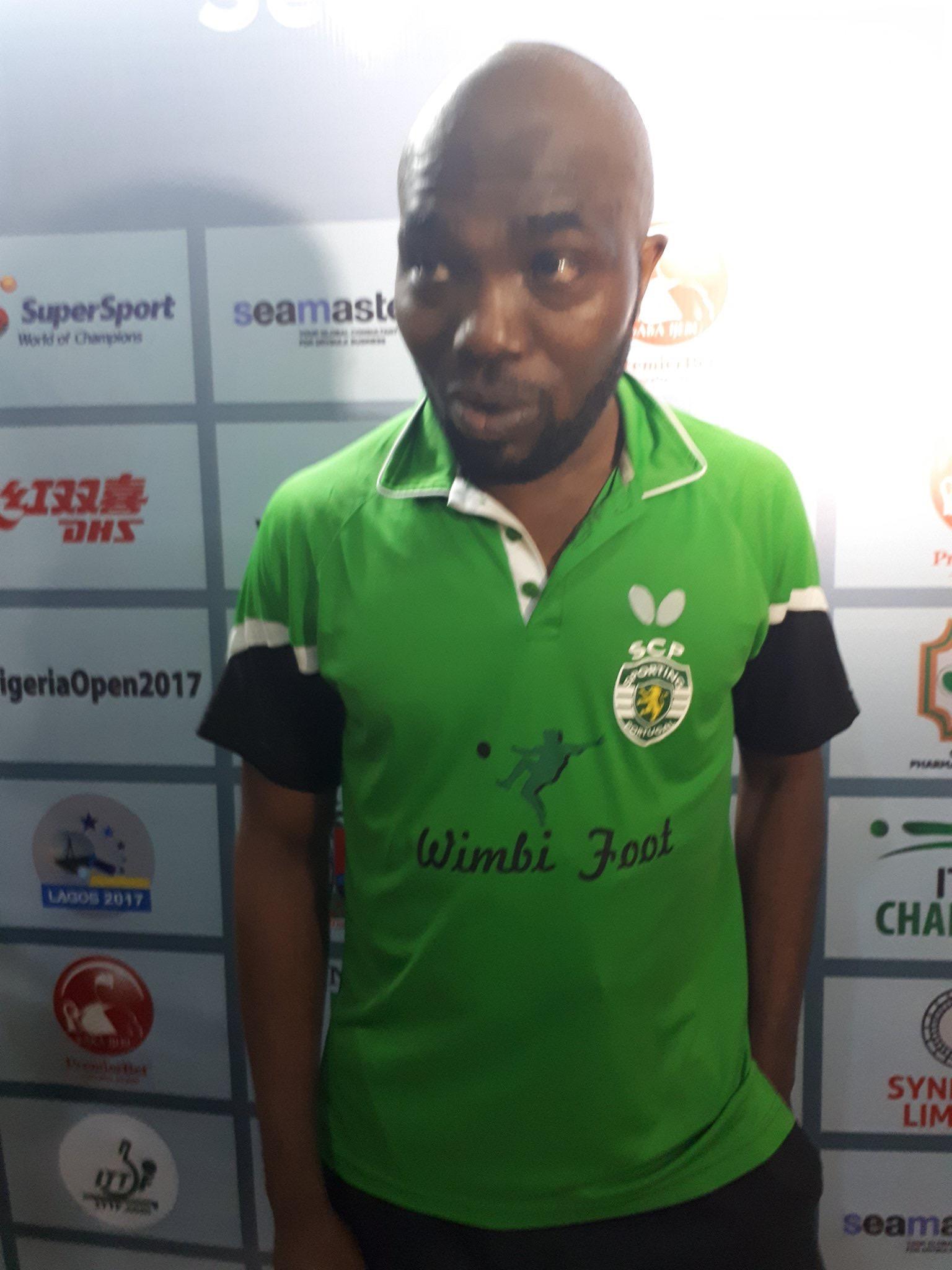 LAST MAN STANDING! Abiodun Qualifies For ITTF Nigeria Open Singles Semis