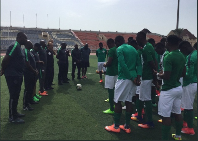 Rohr Arrives, Supervises CHAN Eagles Training In Kano