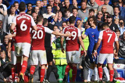 Conte: Red Card To Luiz Vs Arsenal Strange To Me