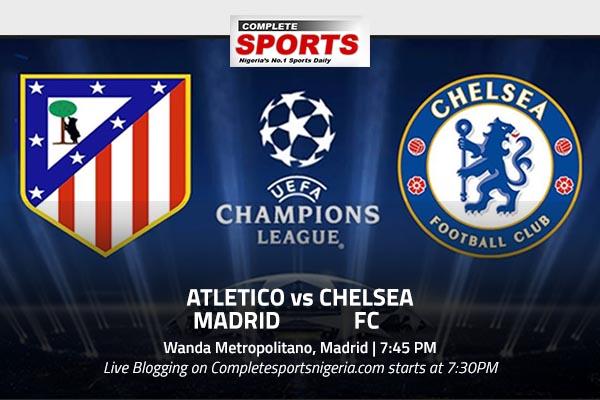 LIVE BLOGGING: ATLETICO MADRID vs CHELSEA FC - Complete ...
