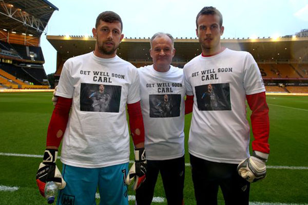 Bristol City Goalkeepers, Coach Support Ikeme In Leukemia Battle