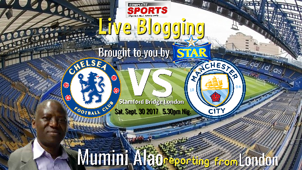 Man City Vs Chelsea Live: LIVE BLOGGING: CHELSEA F.C. Vs MANCHESTER CITY