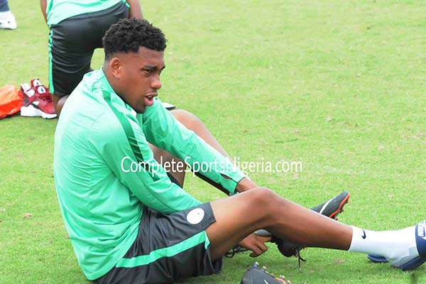 Rohr Waits For Arsenal Vs Brighton Before Making Iwobi Decision