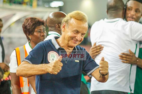 Rohr 'Impatient And Excited' Ahead Russia 2018, Eager To Impress With Super Eagles