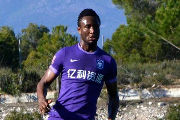 China: Mikel Bags Assist, Pato Scores As Tianjin Teda Outscore Quanjian