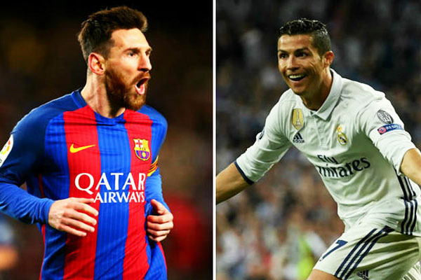 Ronaldo is historic but doesn't compare to Messi - Xavi