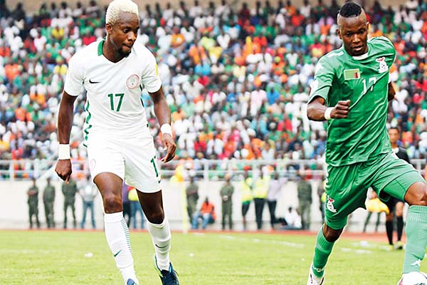 Nigeria vs Zambia: Six Super Eagles stars arrive in Uyo