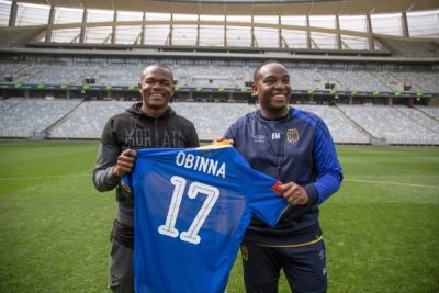 Nsofor Makes Cape Town City Debut In Defeat To Orlando Pirates