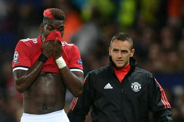 Injured Pogba may undergo surgery over hamstring