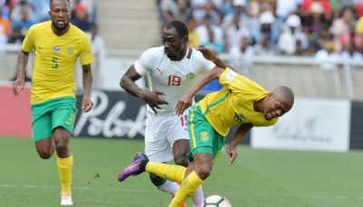 South African Football Association release decision on Senegal game