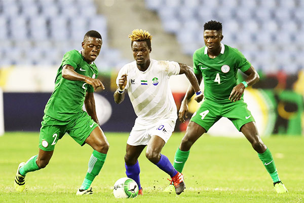 WAFU Cup: Okoro, Peter Fire Nigeria Past S/Leone Into Group Stages