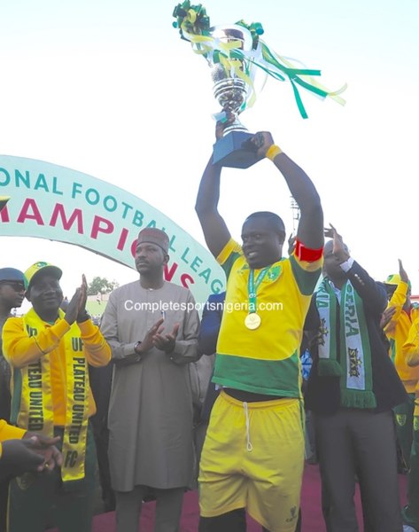 Plateau United defeat Enugu Rangers to win the Nigeria Premier League title