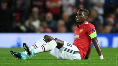 Mourinho Rules Injured Pogba Out Of Man United Vs Everton