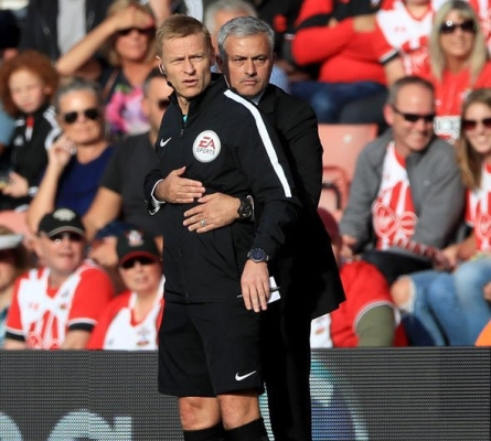 Mourinho Escapes FA Charge After Southampton Sending Off