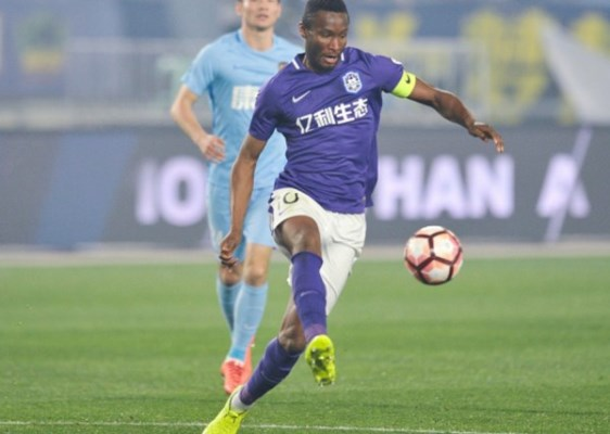 China: Mikel Stars As Tianjin Teda End Long Winless Streak
