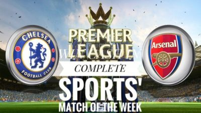 CHELSEA v ARSENAL: Predict & Win In Complete Sports' Match Of The Week Competition